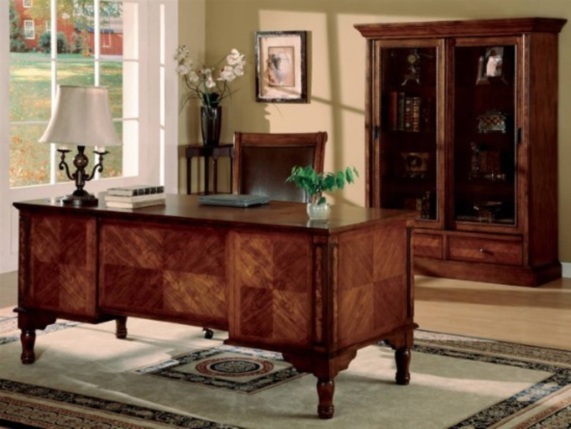 luxurious home office. Home Office Furniture Desks P001 Luxurious