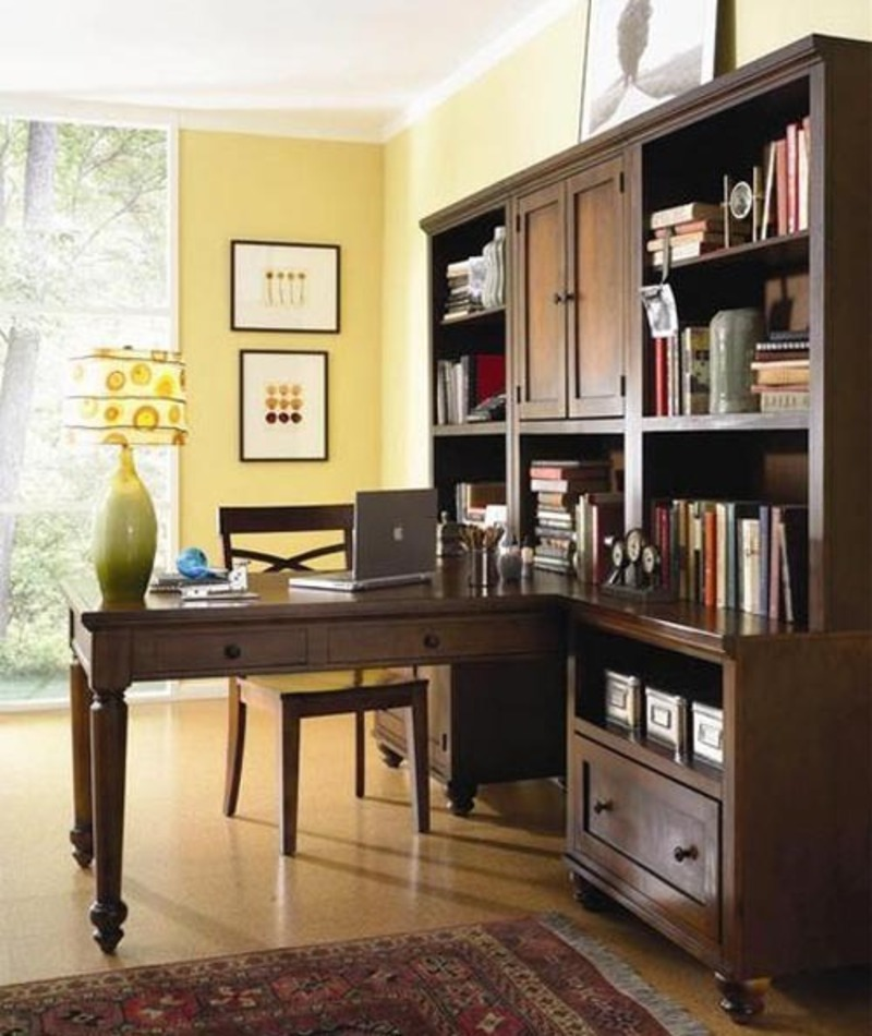 Pictures and inspiration home office furniture ideas home for Upscale home office furniture