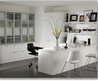 Modern home office design with luxury decorating