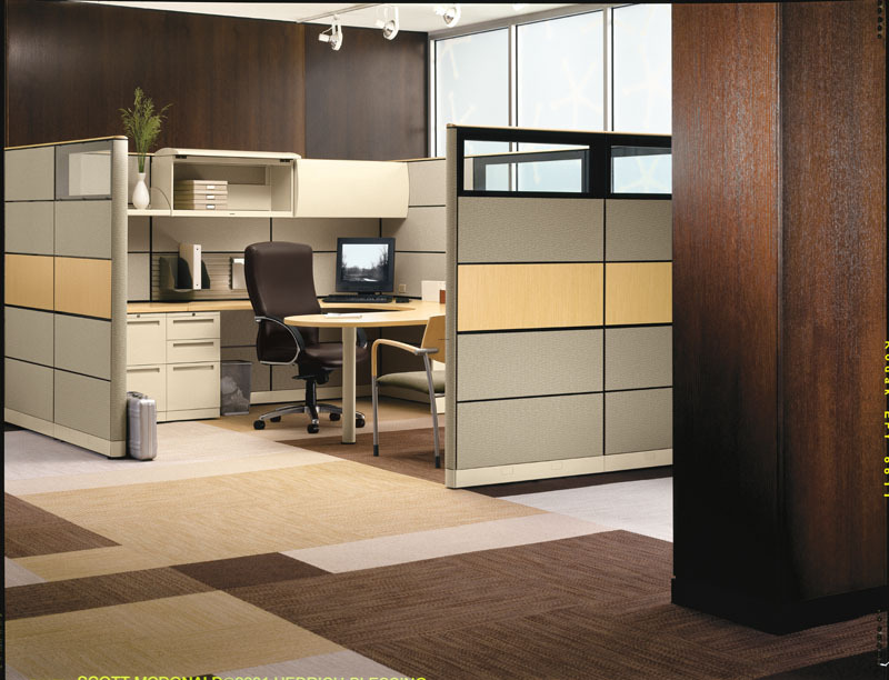 Office Design Home, home office design with wood partition
