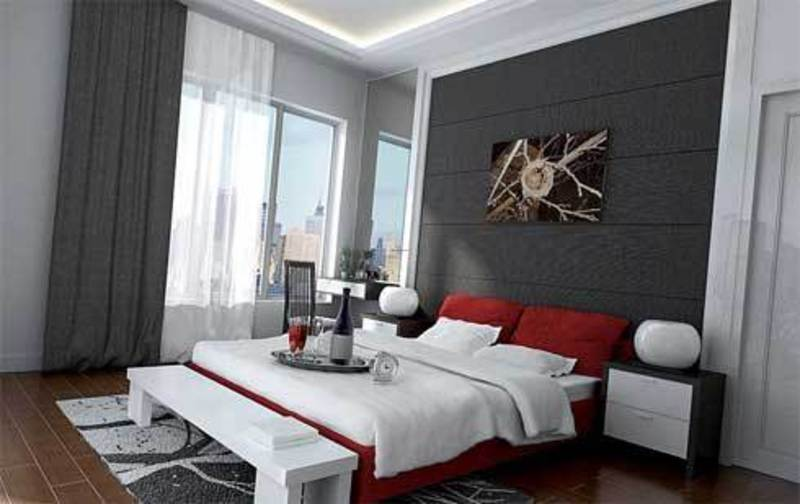 The best of modern master bedroom design ideas design for Interior design bedroom grey
