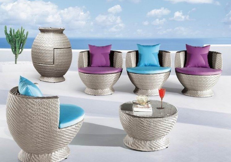Outdoor Patio Lounge Furniture, PATIO LOUNGE SET CT8666 CT8299, Outdoor Patio Furniture by ESF, Collections :: Greenpoint Home Center Furniture