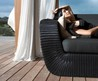 Outdoor Sofa and Lounge Chair from Cane