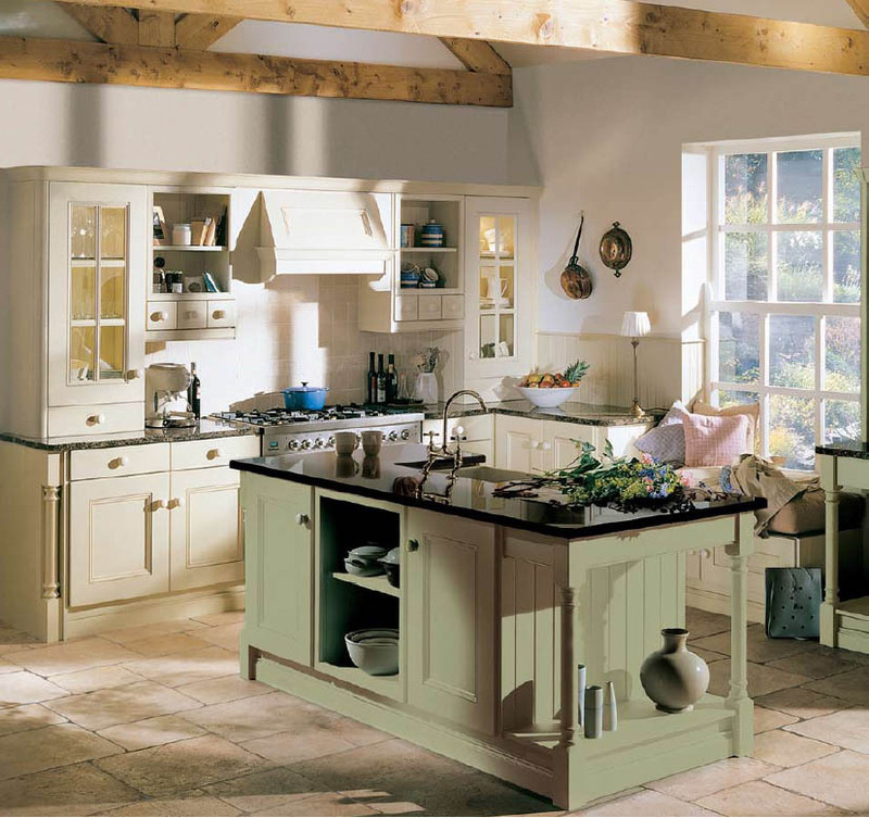 English Country Style Kitchens / design bookmark #3460