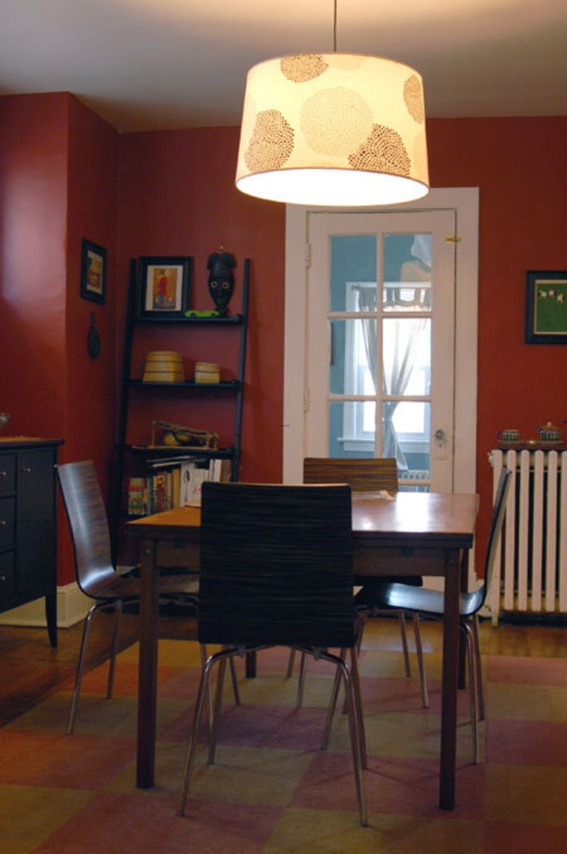 Dining Room Lighting, Question Answered! Dim Dining Room Gets New Light