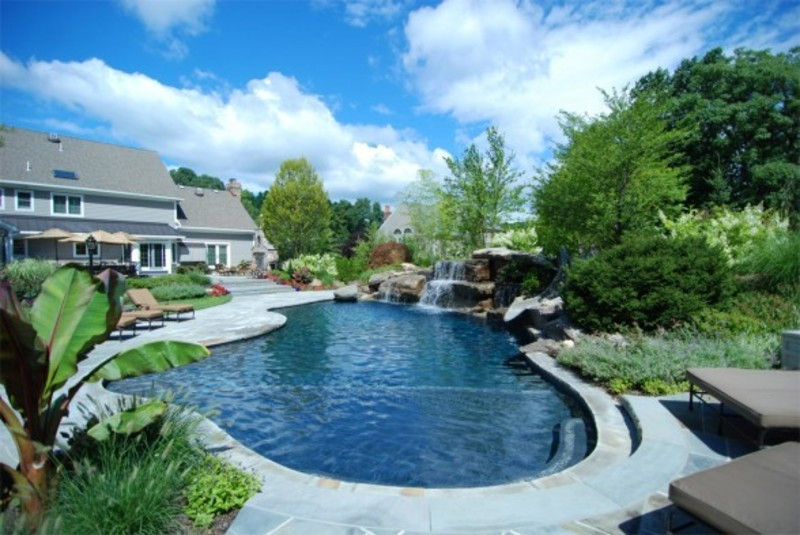 custom swimming pool and spa designs by cipriano landscape