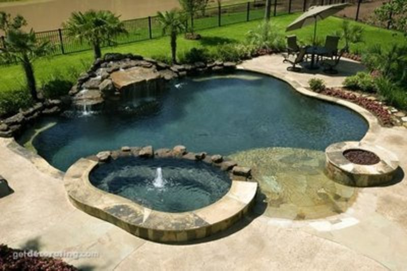 Pool paradise all about swimming pool design ideas - Swimming pool designs galleries ...