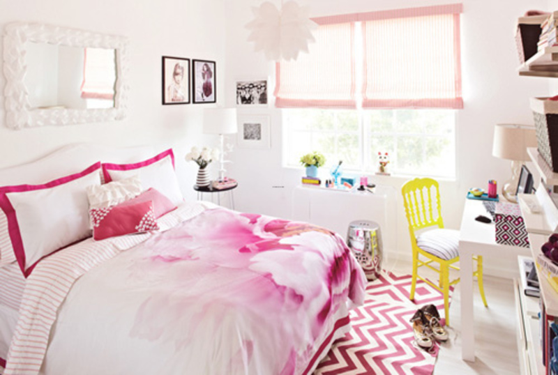 Teenage bedroom ideas ikea - Deco chambre ado fille ...
