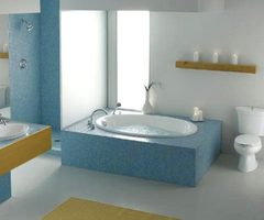 Soothing Zen Spa Bathroom