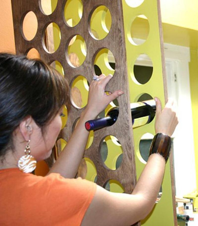 Idées Wine Rack De Conception, How to Build a Handcrafted Wine Rack : Decorating : Home