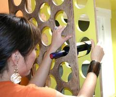 How to Build a Handcrafted Wine Rack : Decorating : Home 