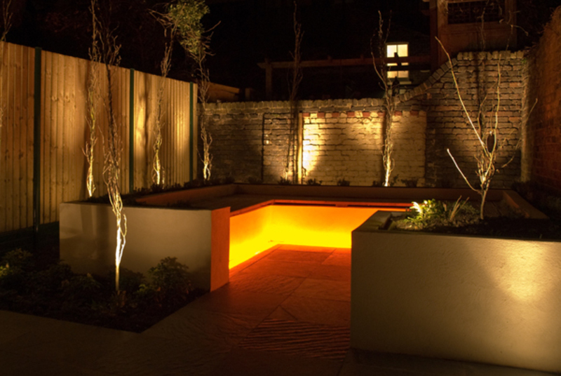 Modern outdoor lighting ideas for landscape patio or for Garden lighting designs