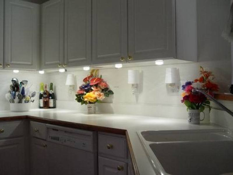 Led And pact Fluorescent Under Cabinet Lighting