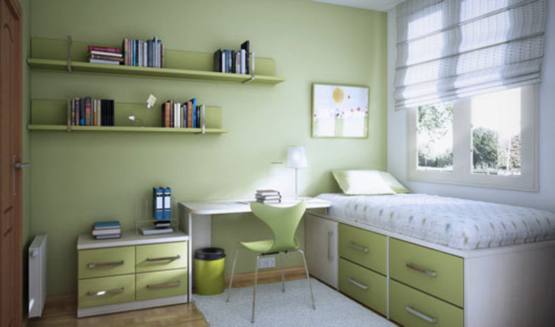 Kids Bedroom And Study Room Interior Design Ideas From Sergi ...
