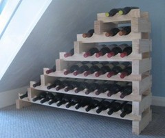 under stair design ideas with wine rack 2