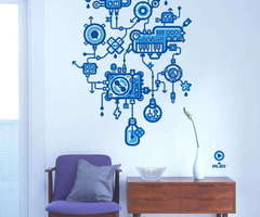 Decorative, Stylish And Creative Stickers For Wall Decor