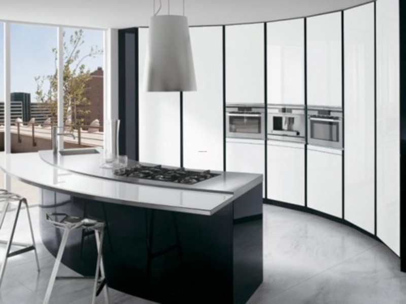 Black White Kitchen Cabinets, black white kitchen cabinets Ernostomeda photos 