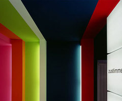Colorful Wall paint in the Office Interior, Luxury, Sweet and Beautiful for your Office