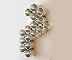 Decorating Walls With Upcycled Cans Art on Flickrfotos.com Home Trends