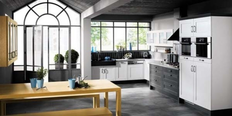 Black White Kitchen Cabinets, Black and White Kitchen Design Ideas from Mobalpa 
