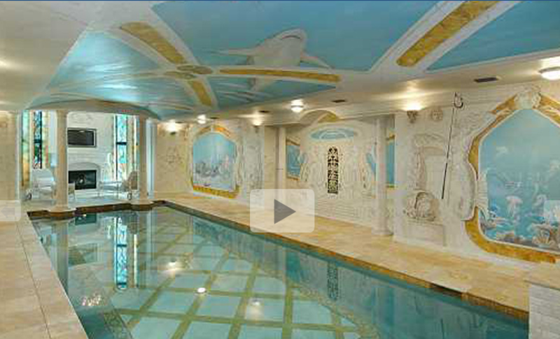 Mansion With Indoor Pool, Most Exquisite Indoor Swimming Pools