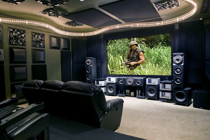 Comhome Cinema Decor : Home Theater Decor, Custom Home Theater Palm Beach