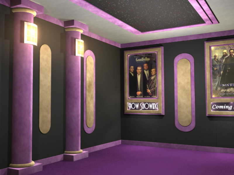 Comhome Cinema Decor : Home Theater Decor Ideas, Home Theater, Home Theater Decor