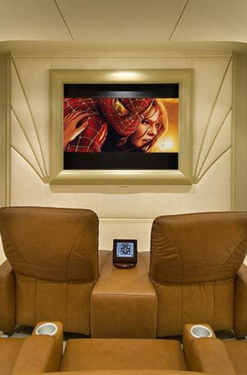 Home Theater Showroom design bookmark 3876