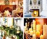 Beautiful and Creative Mantel Christmas Design Decorating Ideas with candle
