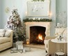 2009 Christmas Living Room Decorating Ideas
