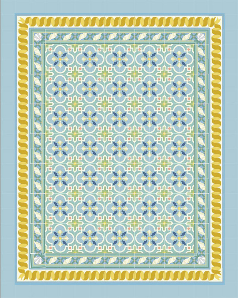 Ceramic Tile Pattern Sheet