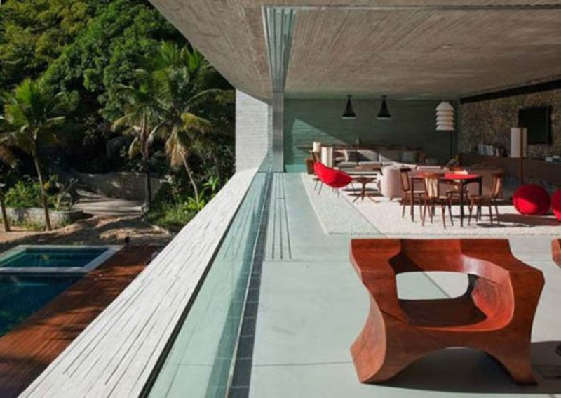 Beach Design Ideas, Design Ideas Modern Paraty Beach House Design Tropical Home Exterior 