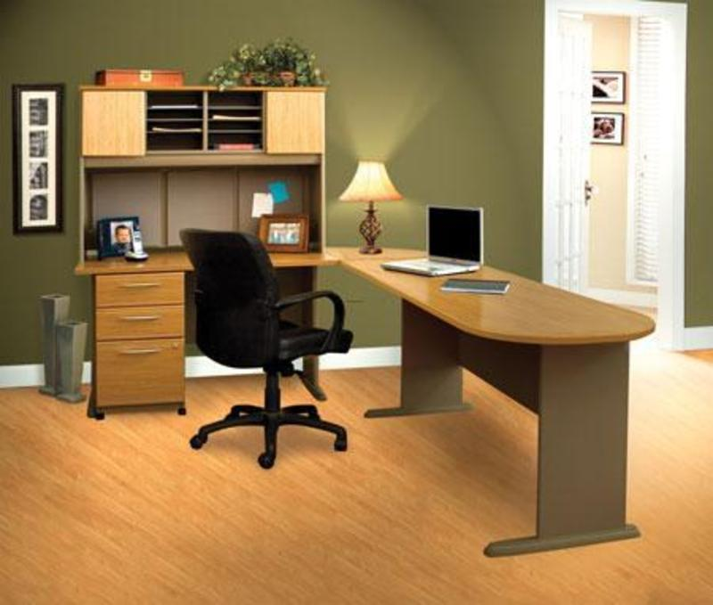 Contemporary home office interior design ideas office for Office layout design ideas