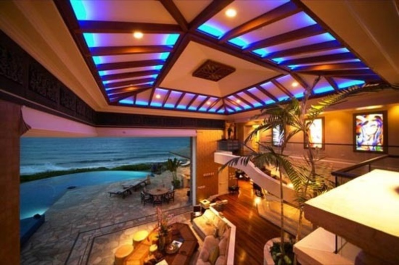 Beach Design Ideas, Luxury House Design Ideas in Hawaii, Tiger Wood House