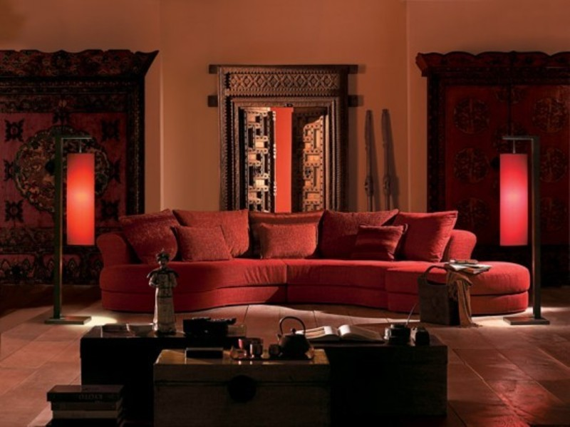 Traditional and ancient indian living room and bedroom Indian living room furniture designs