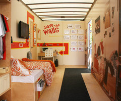 Creative Dorm Room Design Idea for Decorating