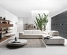 Surround White Sofa Design from Naturazzi 