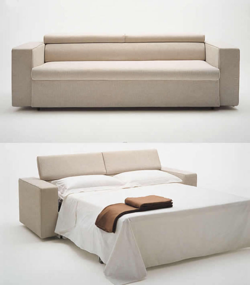 Latest Sofas Design, Bed Integrated From Sofa