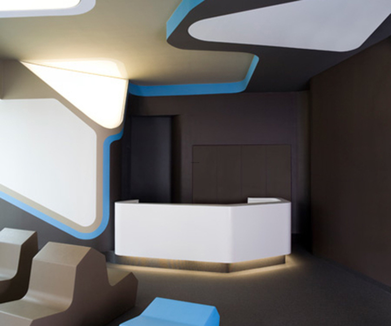 Contemporary Dental Clinic Interior Design Evoke Home