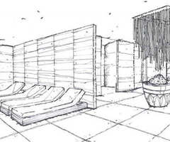Istanbul Edition Hotel Spa – Drawing 03 Design Ideas by Hirsch Bedner Associates