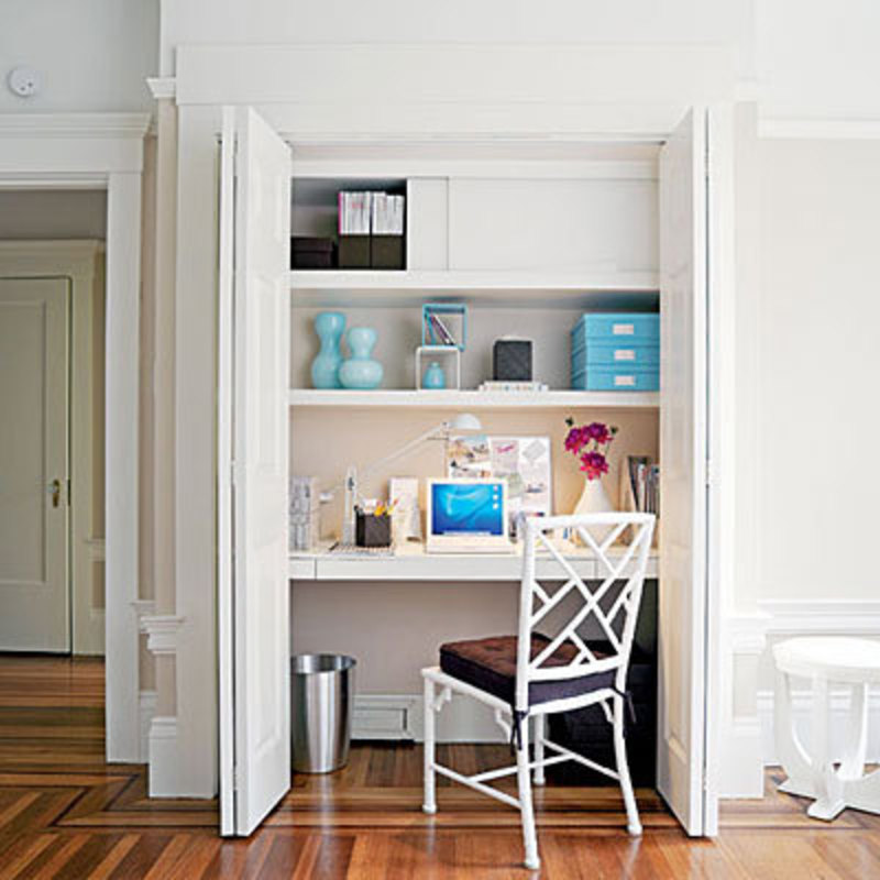 Small space home office 3 ideas home office organizing tips design bookmark 4229 - Workspace ideas small spaces ideas ...