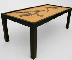 Artistic Coffee Table Design with 3D Motif / Home Trends