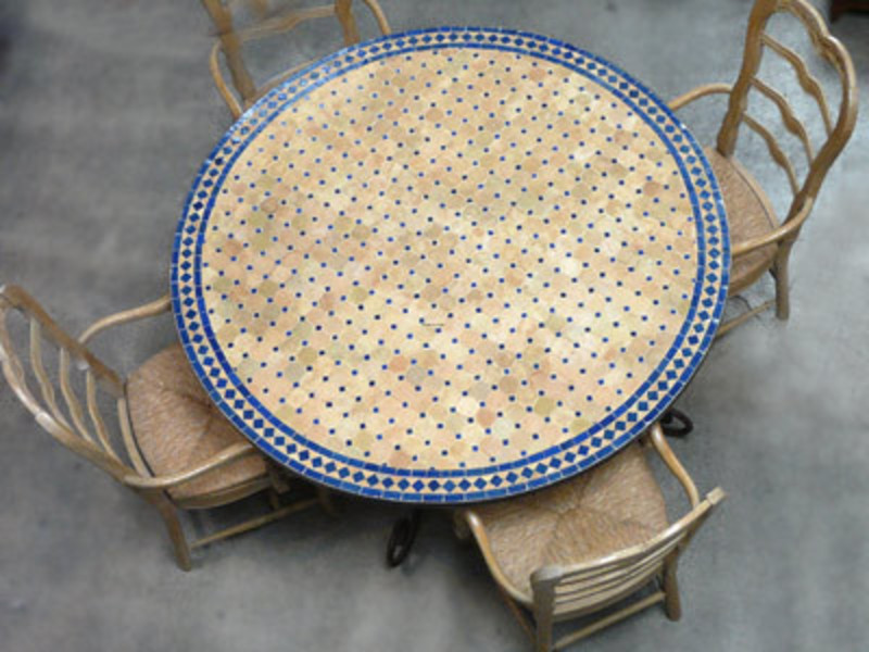 Mosaic Table Top Designs, Mosaic Moroccan table tops handmade in ...