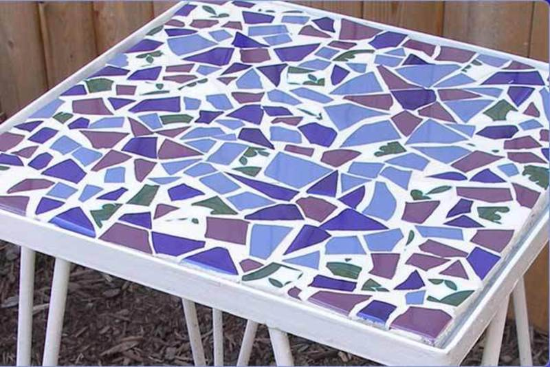 Mosaic Tile Table Tops Mosaic Tile Table Top Designs