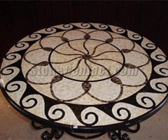 Marble Mosaic Table Top Patterns(Round)