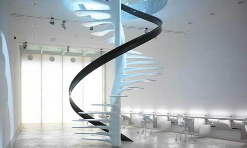 15 Inspiration Spiral Staircase Design White Spiral