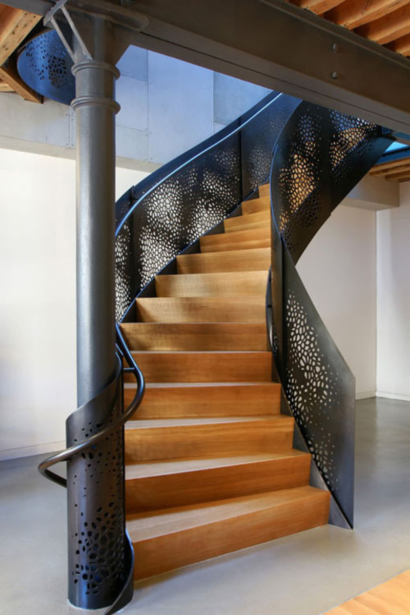 Apartment Stairs In New York By A Workshop Apd Design