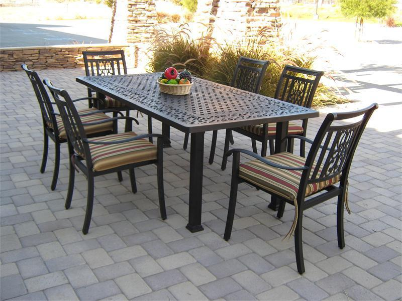 7 Piece Patio Dining Set Design Bookmark 4543