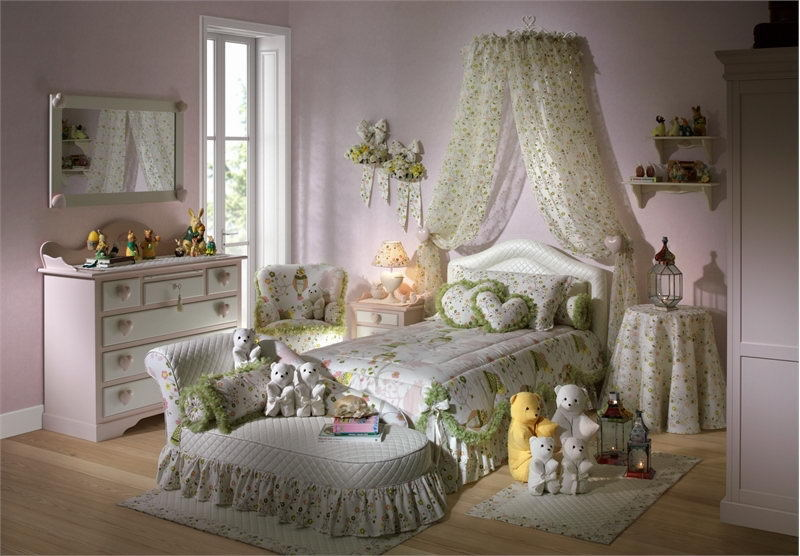 6 cute heart themed bedroom ideas for teenager girls - Cute teen room ideas ...