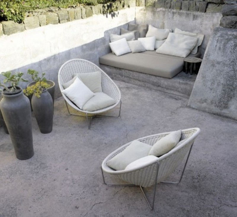 patio decorating ideas unique pictures stone patio furniture